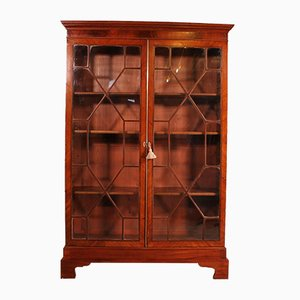 Antique Mahogany Bookcase or Cabinet