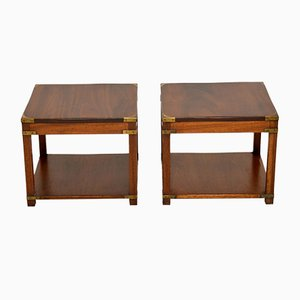 Mahogany Side Tables , 1950s, Set of 2