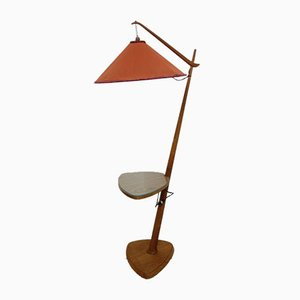 Floor Lamp by Vaclav Rada for ÚĽUV Praha, 1940s