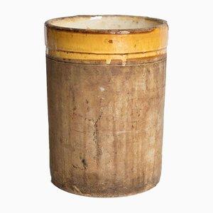Antique Italian Cylinder in Terracotta