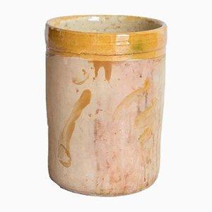 Antique Italian Cylinder in Ceramic