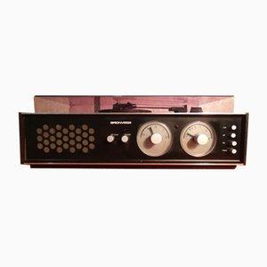 Model RR 128 FO Radio Phonograph by Achille Castiglioni for Brionvega, 1964