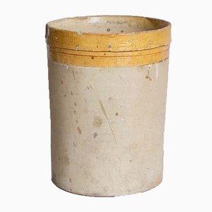 Antiker Italienischer Zylinder aus Keramik