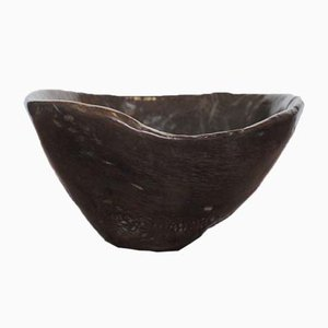 18th Century Burl Wood Bowl