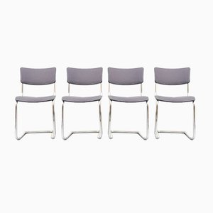 Vintage Model S43 Dining Chairs by Mart Stam for Thonet, Set of 4