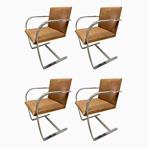 Brno Armchairs by Ludwig Mies van der Rohe for Knoll Inc. / Knoll International, 1966, Set of 4