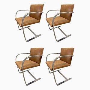 Butacas de Ludwig Mies van der Rohe para Knoll Inc. / Knoll International, 1966. Juego de 4
