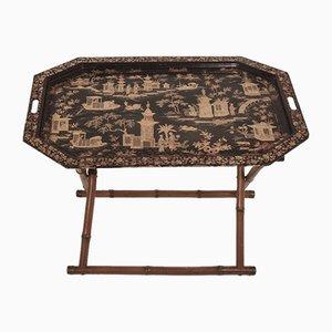 Tavolino pieghevole in stile cinese, Spagna Anni '60