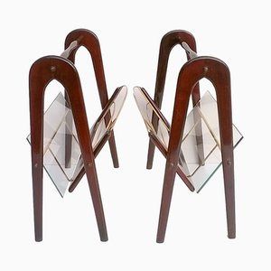 Magazine Racks by Cesare Lacca, 1950s, Set of 2