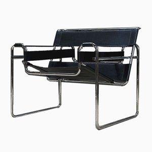 Chaise Wassily par Marcel Breuer pour Knoll Inc. / Knoll International, 1970s