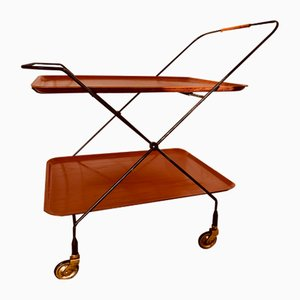 Swedish Bar Cart by Paul Nagel for JIE Gantofta, 1959s