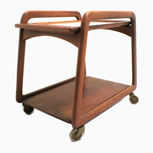 Scandinavian Teak Trolley, 1960s