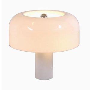 Große Mushroom Tischlampe von Luigi Massoni für Guzzini, 1970er