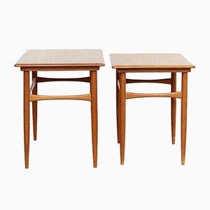 Danish Teak Nesting Tables from Skovmand & Andersen, 1960s
