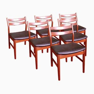 Side Chairs, 1960s, Set of 6