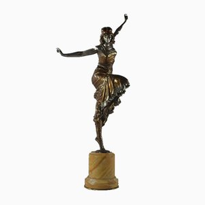 Paul Philippe, russische Tänzerin aus Bronze, 1925