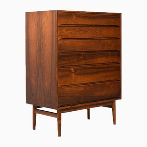Danish Tallboy Chest by Svend Langkilde for Langkilde, 1960s