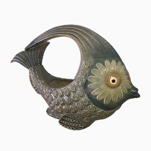 Ceramic Fish by Vicente Martinez for Lladro, 1970s