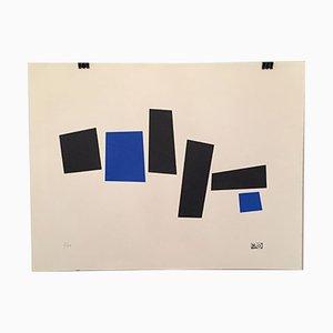 Siebdruck von Micaela Oriol für La Máquina Kirlian