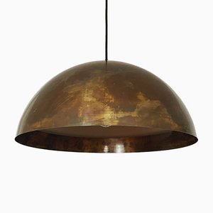 Copper Pendant Lamp from Beisl, 1960s