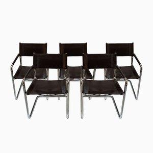 Chaises de Salon, 1970s, Set de 5