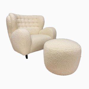 Italian Lounge Chair, 1980s