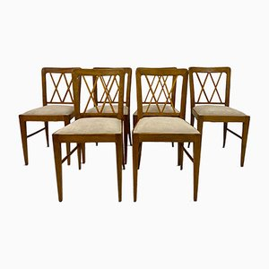Italian Dining Chairs by Paolo Buffa, 1940s, Set of 6