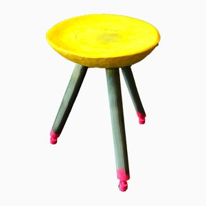 Working Class Hero Stool by Markus Friedrich Staab
