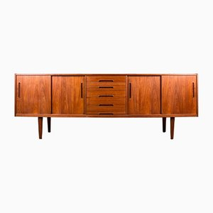Swedish Teak Model Gigant Sideboard by Nils Jonsson for Hugo Troeds, 1960s