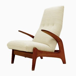 Teak Rock 'N Rest Lounge Chair by Rolf Rastad & Adolf Relling for Arnestad Bruk, 1970s