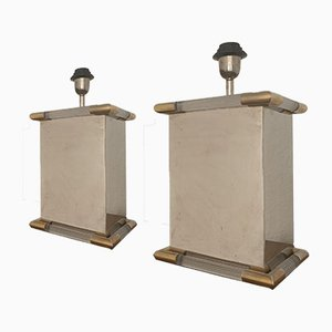 Lampade da tavolo in stile Maison Jansen, anni '60, set di 2