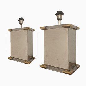 Tischlampen im Stil von Maison Jansen, 1960er, 2er Set