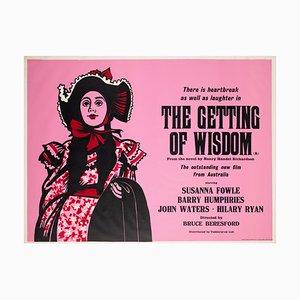 The Getting of Wisdom Plakat von Peter Strausfeld, 1977