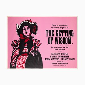 The Getting of Wisdom Poster by Peter Strausfeld, 1977
