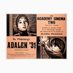 Adalen '31 Plakat von Peter Strausfeld, 1970er