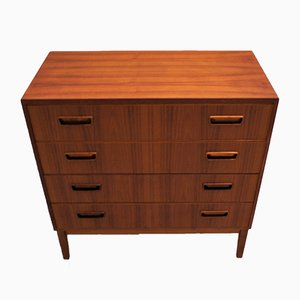 Scandinavian Teak Chest of Drawers, 1960s