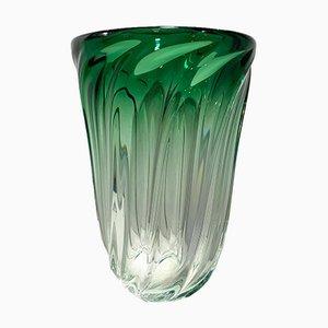 Glass Vase from Val Saint Lambert, 1970s