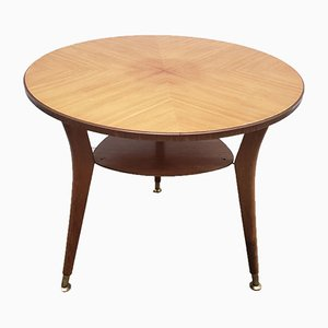 Mid-Century Round Coffee Table, 1960s