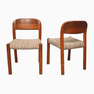 Danish Teak Dining Chairs from Emc Møbler, 1960s, Set of 2