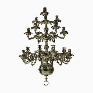 Lustre Antique en Argent, France, 1850s