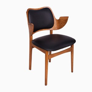 Model 107 Teak Armchair by Hans Olsen for Bramin, 1950s