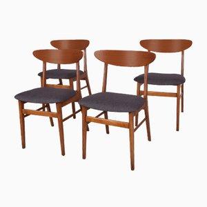 Mid-Century Esszimmerstühle von Farstrup Møbler, 1960er, 4er Set