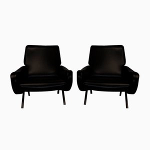 Model Lady Lounge Chairs by Marco Zanuso for Arflex, 1950s, Set of 2