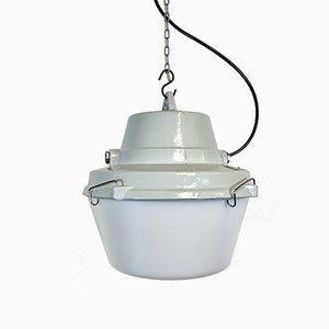 Industrial Cast Aluminium Pendant Lamp, 1990s