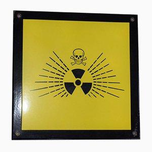 Radioaktives Schild, 1970er