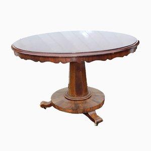 Großer Tisch aus Mahagoni, 1900er