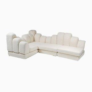 Modulares Dromadaire Sofa aus Pierre Frey Wolle von Hans Hopfer für Roche Bobois, 1974