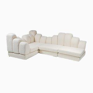 Dromadaire Sectional Sofa in Pierre Frey Wool by Hans Hopfer for Roche Bobois, 1974