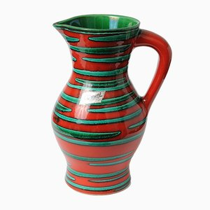 Vintage Ceramic Jug from Saint Clement, 1960s