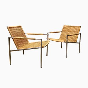 Model Sz01 Armchairs by Martin Visser for t Spectrum, 1960s, Set of 2